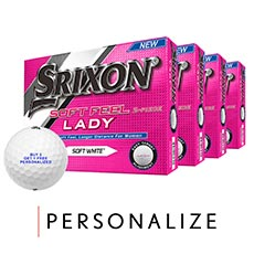 SOFT FEEL LADY GOLF BALLS - BUY 3 GET 1 FREE