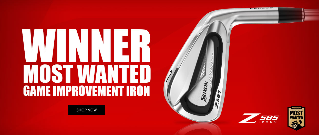 Z 585 Irons - Winner Most Wanted Game Improvement Iron
