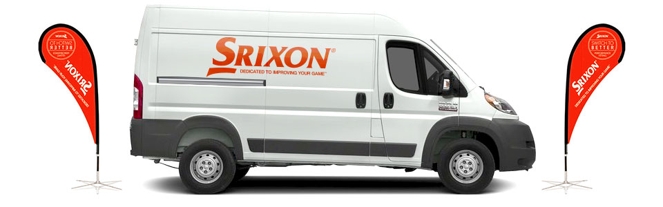 Srixon Ball Fitting Van