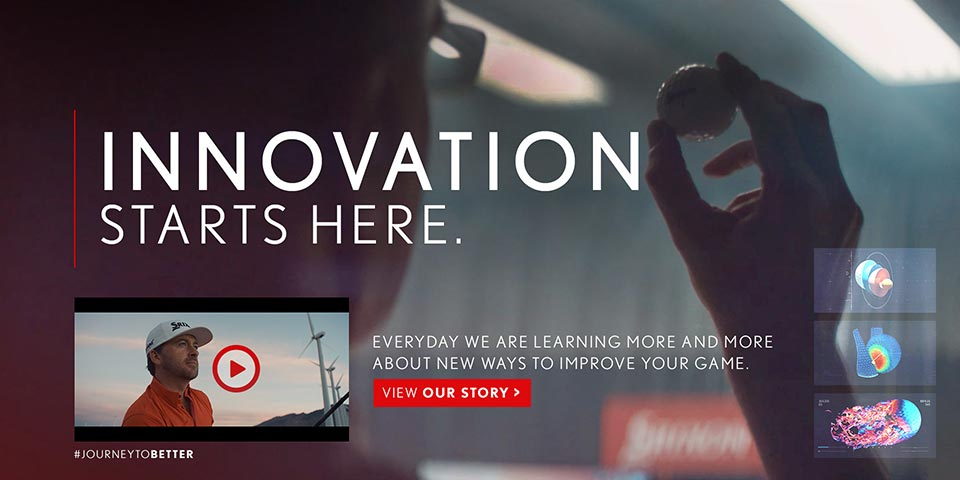 Srixon - Innovation Starts Here