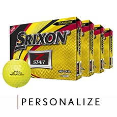 Z-STAR GOLF BALLS - BUY 3 GET 1 FREE,Tour Yellow