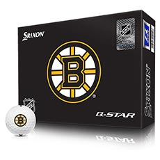 NHL LOGO Q-STAR GOLF BALLS,Boston-Bruins