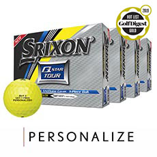 Q-STAR TOUR GOLF BALLS - BUY 3 GET 1 FREE,Tour Yellow