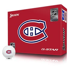 NHL LOGO Q-STAR GOLF BALLS,Montreal-Canadiens