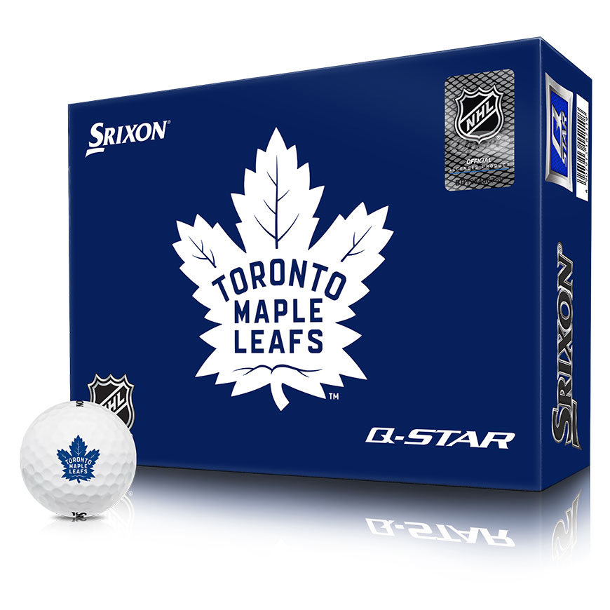NHL LOGO Q-STAR GOLF BALLS,Toronto-Maple-Leafs