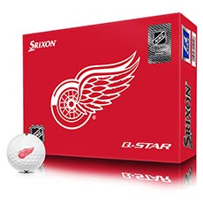 NHL LOGO Q-STAR GOLF BALLS,Detroit-Red-Wings