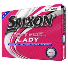 SOFT FEEL LADY GOLF BALLS,Soft White