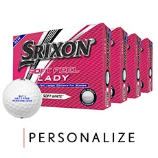SOFT FEEL LADY GOLF BALLS - BUY 3 GET 1 FREE,Soft White