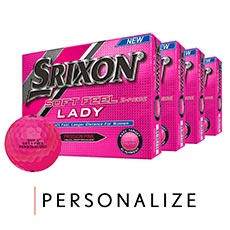 SOFT FEEL LADY GOLF BALLS - BUY 3 GET 1 FREE,{$variationvalue},{$viewtype}