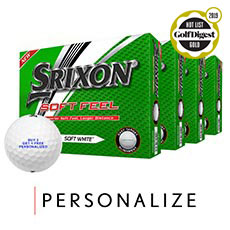 SOFT FEEL GOLF BALLS - BUY 3 GET 1 FREE,Soft White