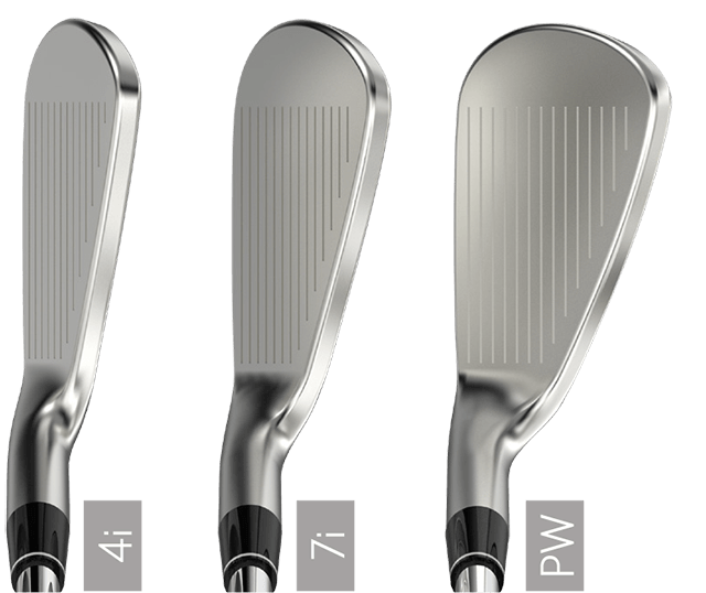 ZX7 Irons Address
