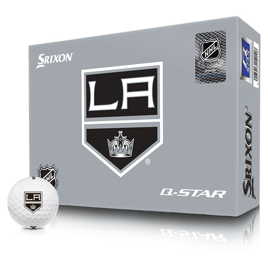 NHL LOGO Q-STAR GOLF BALLS,LA-Kings