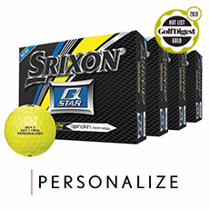 Q-STAR GOLF BALLS - BUY 3 GET 1 FREE,Tour Yellow