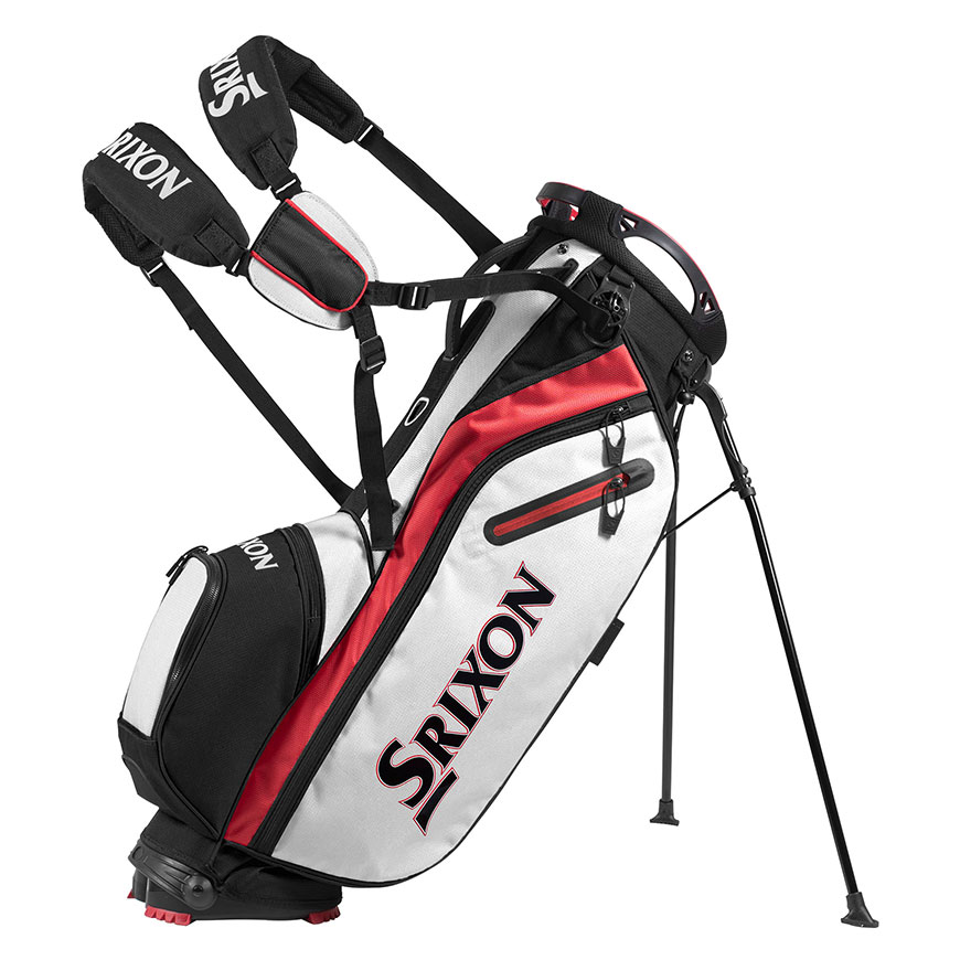 Z85 Stand Bag,White/Red/Black