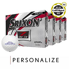 Z-STAR XV GOLF BALLS - BUY 3 GET 1 FREE,Pure White