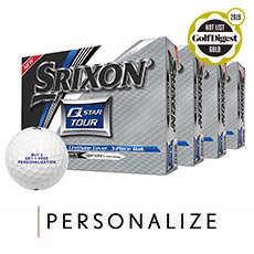 Q-STAR TOUR GOLF BALLS - BUY 3 GET 1 FREE,Pure White