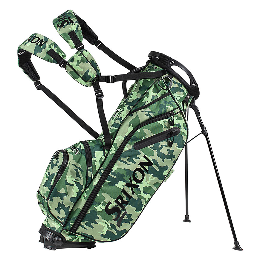 Z85 Stand Bag,Bright Green Camouflage